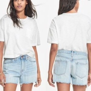 Madewell Denim Boyfriend Shorts